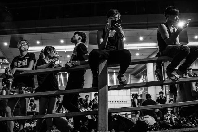 , 'Occupy HK 07,' 2014, Christine Park Gallery