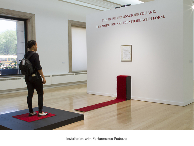 Rashayla Marie Brown, 'A Performance Cannot Be Redone So Don't Ask Me For a Thing', 2017, Artadia