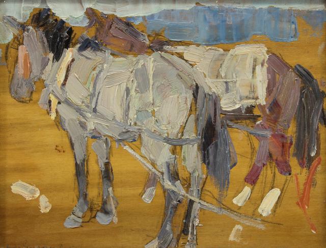 Leon Gaspard, 'Horses No.6 China', Addison Rowe Gallery