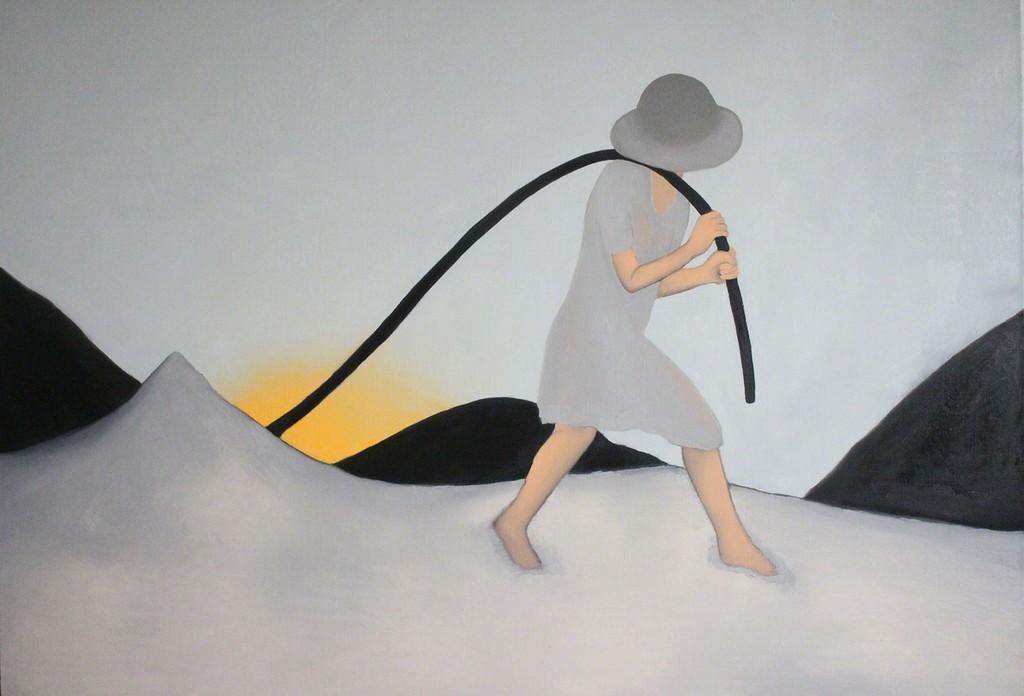 Sun Daliang, Light Carrier, 2010 - 2011, Oil on canvas, 180 x 240cm