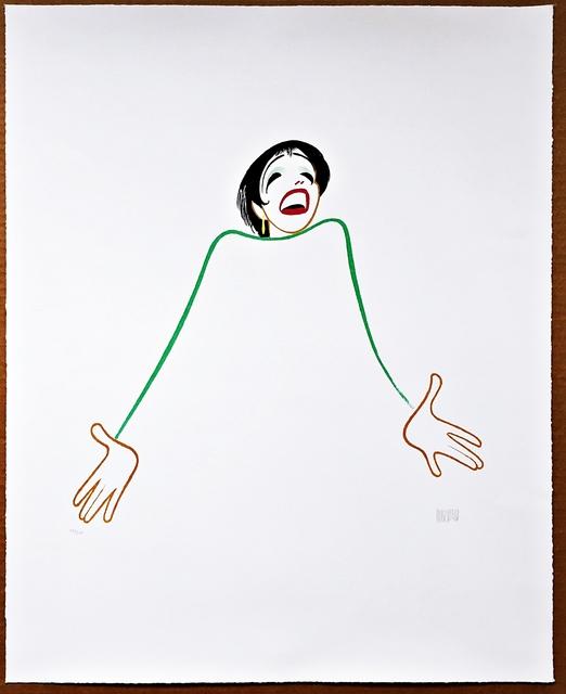 Al Hirschfeld, 'Liza Minnelli: Minelli on Minelli ', 1999, Alpha 137 Gallery