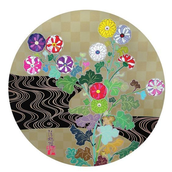 Takashi Murakami, 'Kansei Korin Gold', 2010, Der-Horng Art Gallery