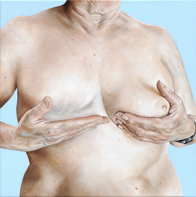 , 'Breast Portrait #14,' 2013, Catharine Clark Gallery