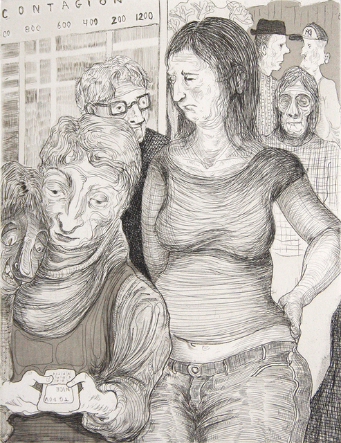 Nicole Eisenman, 'Contagion', 2012, Harlan & Weaver