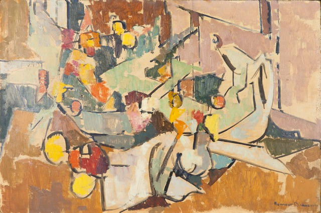 , 'Abstract Still Life with Pitcher, Bowl of Flowers, Creamer,' , Childs Gallery