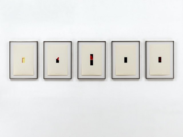 , 'Fünf Miniaturen,' 1972, Carolina Nitsch Contemporary Art