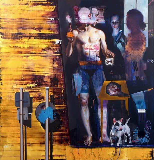 , 'Kommentar 2,' 2018, Josef Filipp Galerie