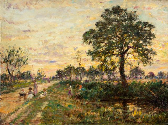 William Mark Fisher, 'Coucher de Soleil', 19th -20th Century, Vose Galleries