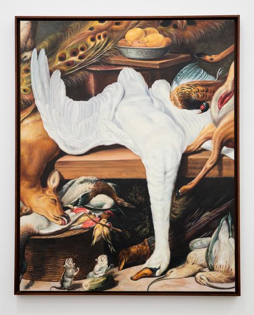 , 'Swan,' 2016, Anat Ebgi