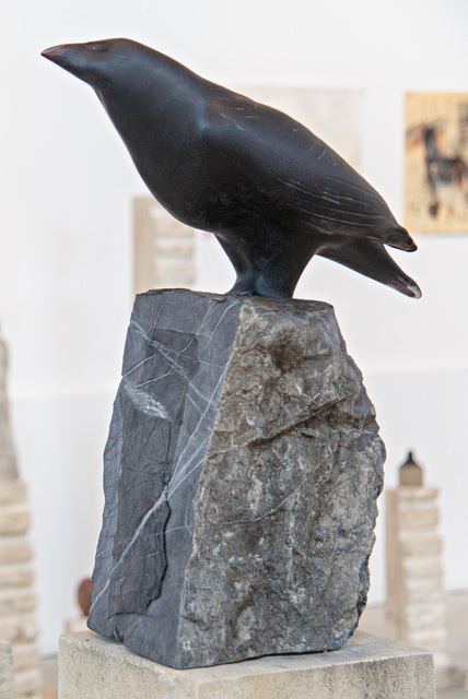 , 'MALE RAVEN,' 31883, Traver Gallery