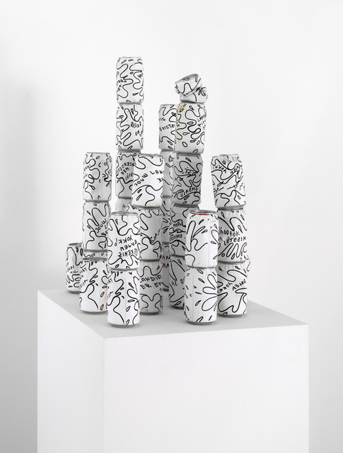 , 'Your Country Doesn't Exist (cans),' 2004, waterside contemporary