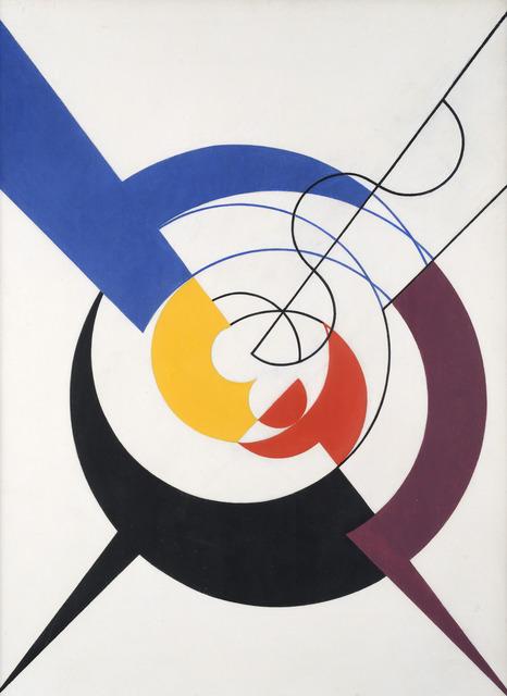, 'Construction dynamique,' 1942, Galerie Zlotowski
