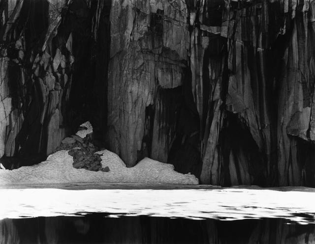 , 'Frozen Lake and Cliffs, Sierra Nevada, CA,' 1932, Weston Gallery