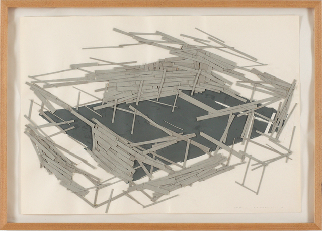 , 'Site plan1,' 1991, Art Front Gallery