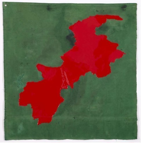 , 'Gel Poetics (War in North West Pakistan 2004) - on going conflicts,' 2012, Galería Vermelho