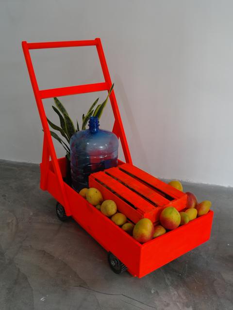 , 'Sin título (Carretilla caribetrónica),' 2017, Celaya Brothers Gallery
