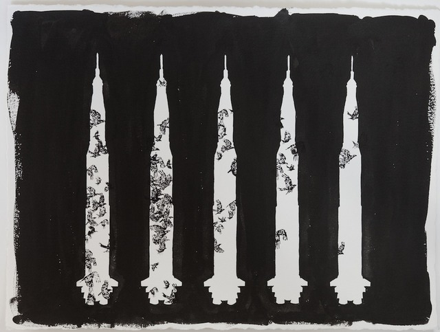 , 'Countdown in Black,' 2014, Cross Mackenzie Gallery