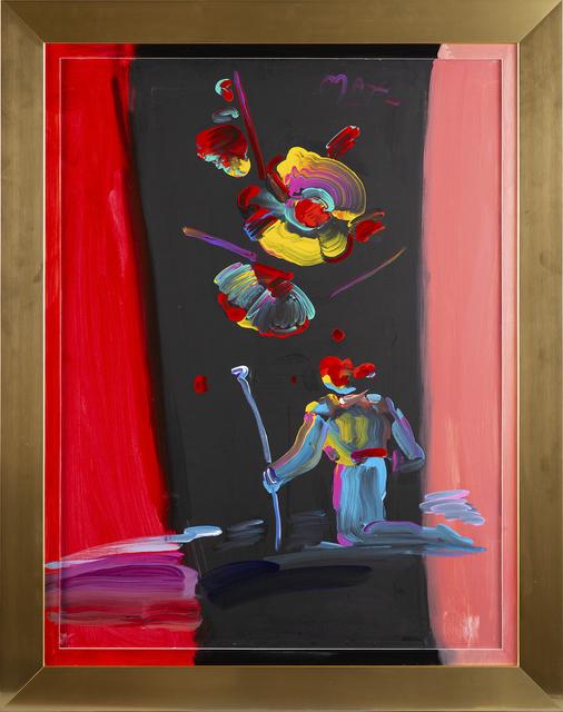 Peter Max, 'R.S. Kneeling Sage II', 1990, Modern Artifact