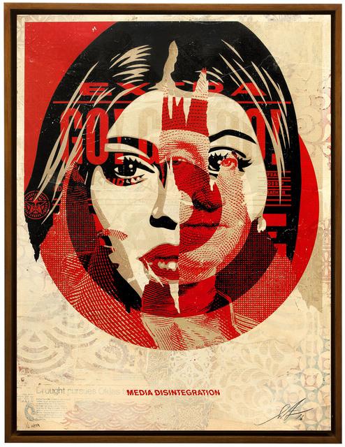 Shepard Fairey (OBEY), 'Media Target', 2016, Underdogs Gallery