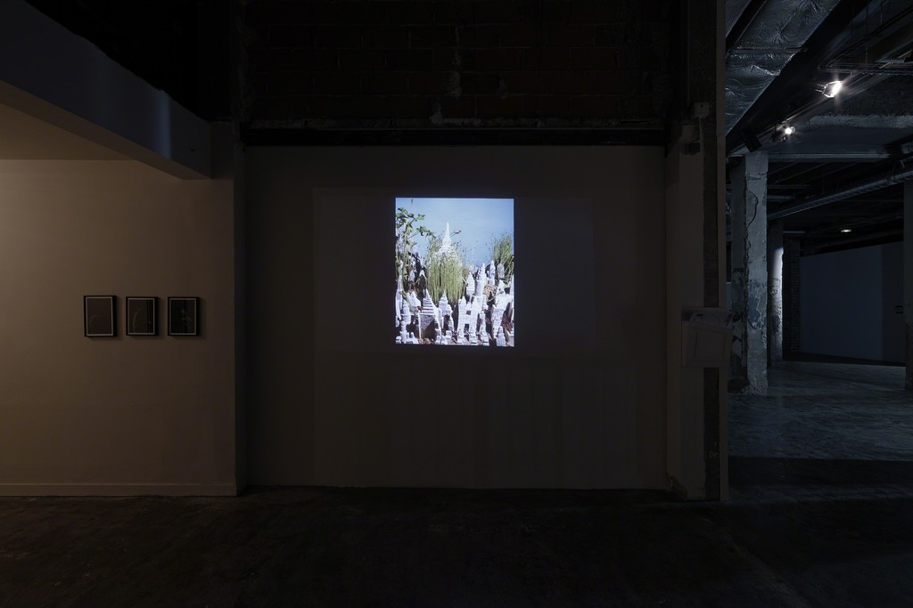 View of Clément Richem's exhibition, Palais de Tokyo, 2015. Photo : Aurélien Mole.