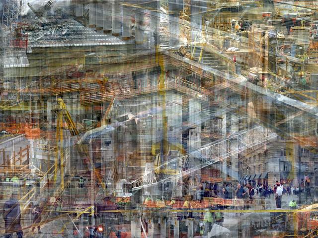 , 'W.T.C: Concrete Abstract #12,' 2011-2013, Julie M Toronto
