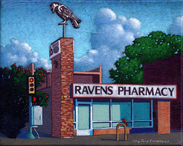 , 'Ravens Pharmacy,' 2016, Ro2 Art