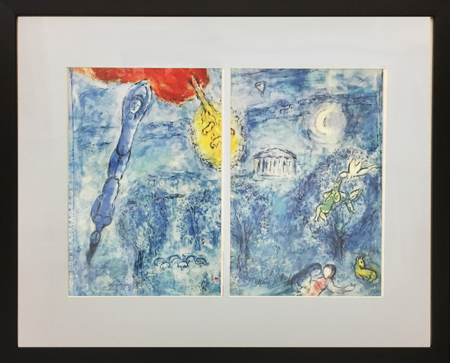 Marc Chagall, 'Daphnis & Chloe: The 2nd Act', 1958, Baterbys Art Gallery