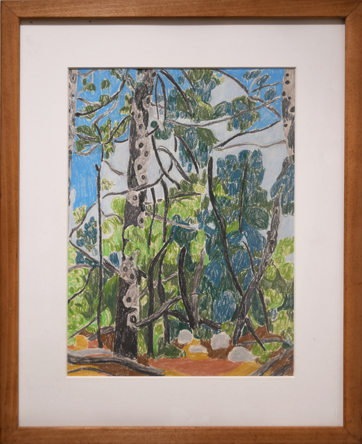 , 'Forest in Monhegan,' 1985, Anita Shapolsky Gallery