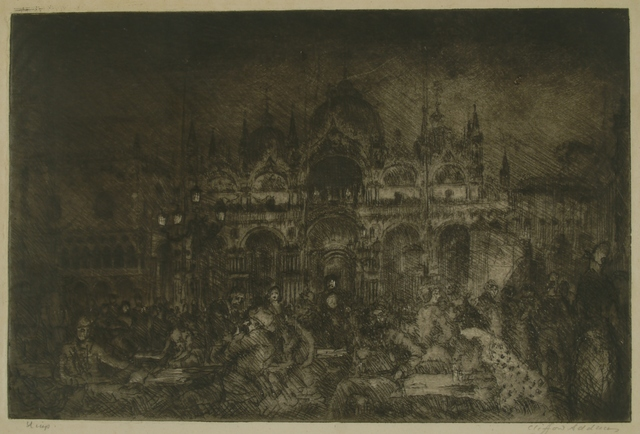 Clifford Isaac Addams, 'Nocturne, St Mark's, Venice', ca. 1914, Private Collection, NY