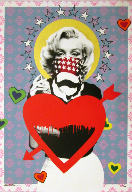 STATIC, 'Marilyn: Lovestruck', 2014, Collectors Contemporary