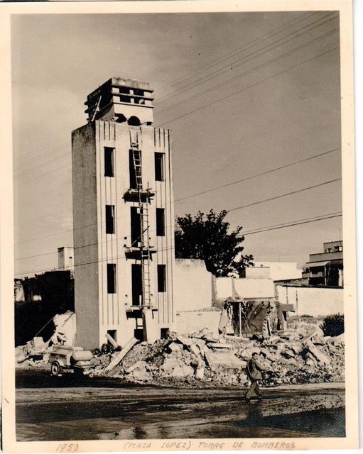 , 'Pláza López. Torre de bomberos,' 1953, Henrique Faria Fine Art