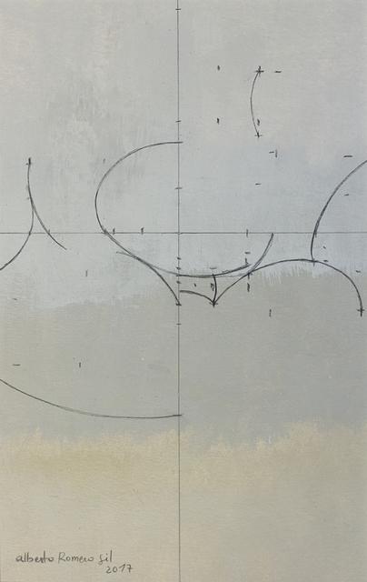 , 'Geometría de huevos blancos21 x 13,' 2017, PontArte