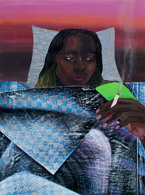 , 'Smoking in Bed,' 2016, HATHAWAY | Contemporary Gallery