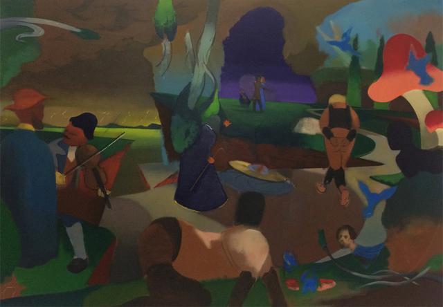 , 'Untitled (Irony Moron 2),' 2017, Gallery MOMO