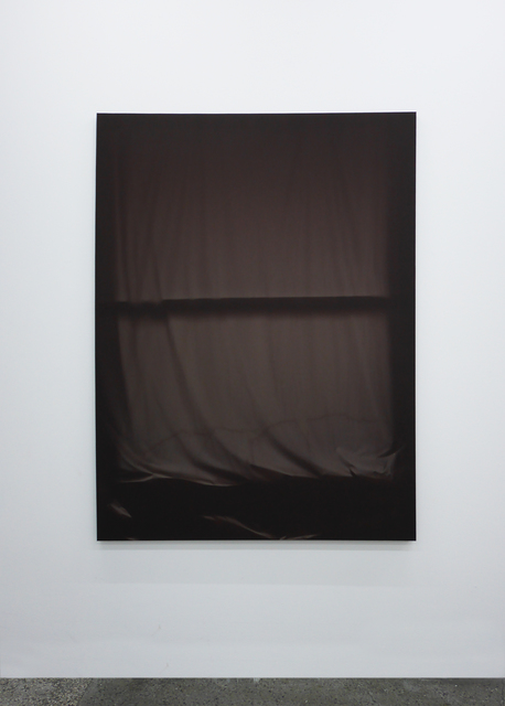 , 'Bedroom Window (Brown) 6 Month Exposure. Spring-Fall 2014,' 2015, V1 Gallery