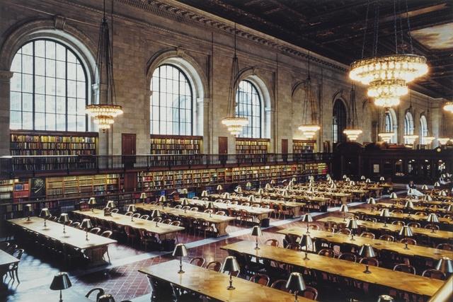 Candida Höfer, 'New York Public Library V', 1999, Sotheby's
