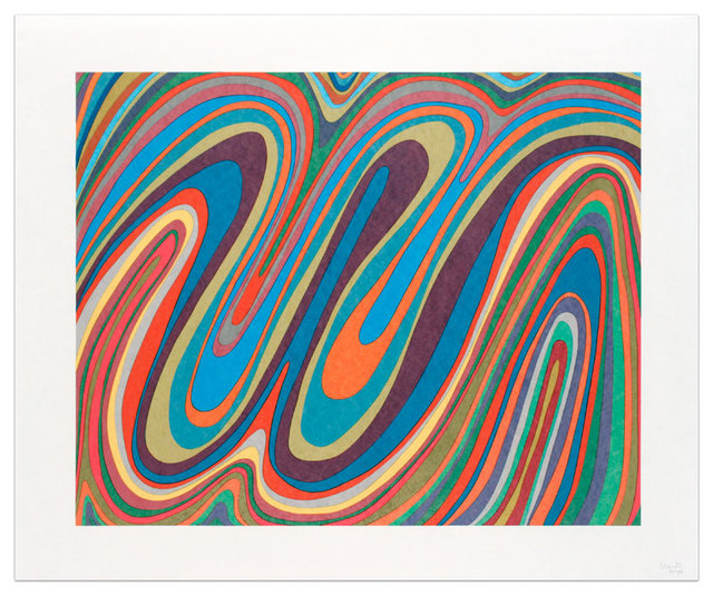 , 'Irregular Wavy Bands,' 1996, Alan Cristea Gallery