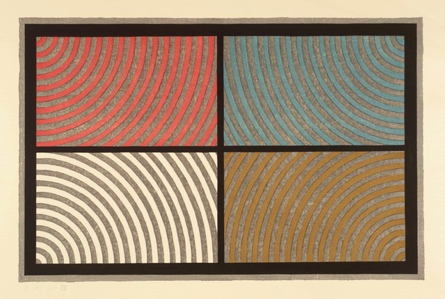 , 'Arcs from Four Corners,' 1986, michael lisi / contemporary art