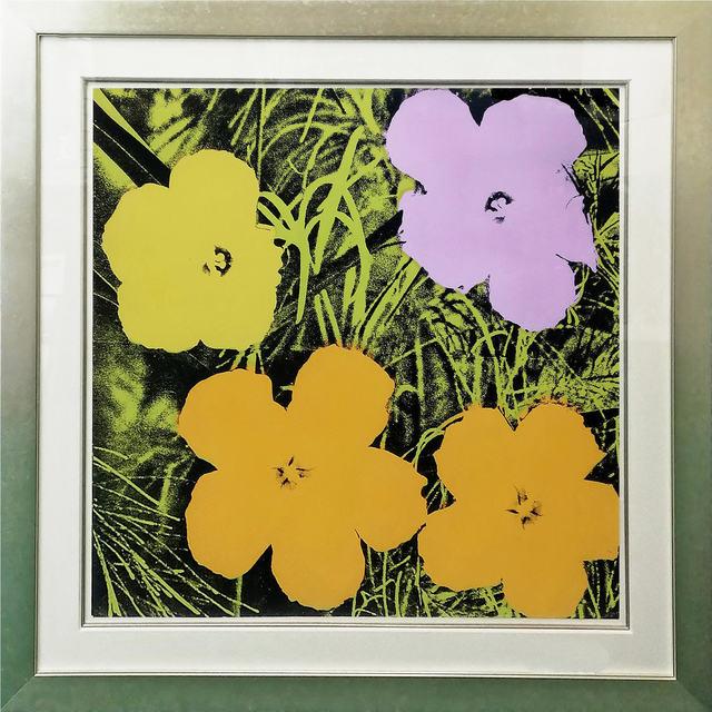 Andy Warhol, 'Flowers (F. & S. II. 67)', 1970, Print, Screenprint, David Benrimon Fine Art