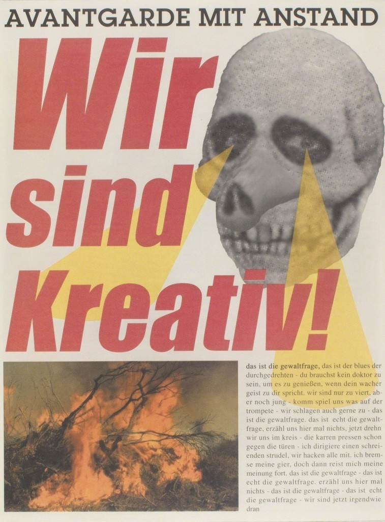 Albert Oehlen, 'Wir sind Kreativ,' 2000, Niels Borch Jensen Gallery and Editions