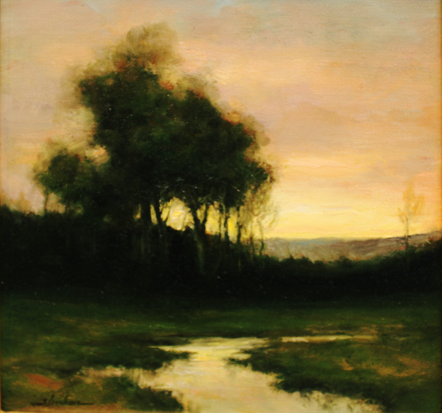 , 'Twilight Silhouettes,' 2019, The Guild of Boston Artists