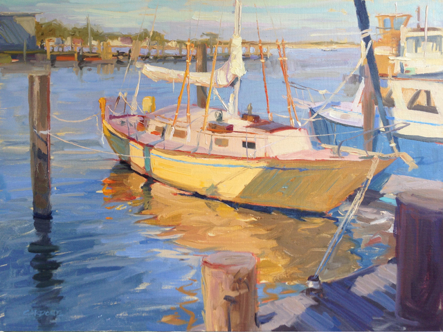 , 'Greenport Shipyard, Afternoon,' 2016, Grenning Gallery
