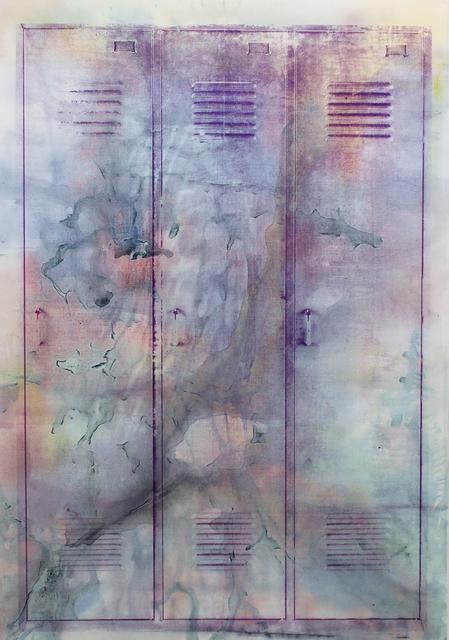 , 'ghost locker (wah-wah),' 2019, Christine König Galerie