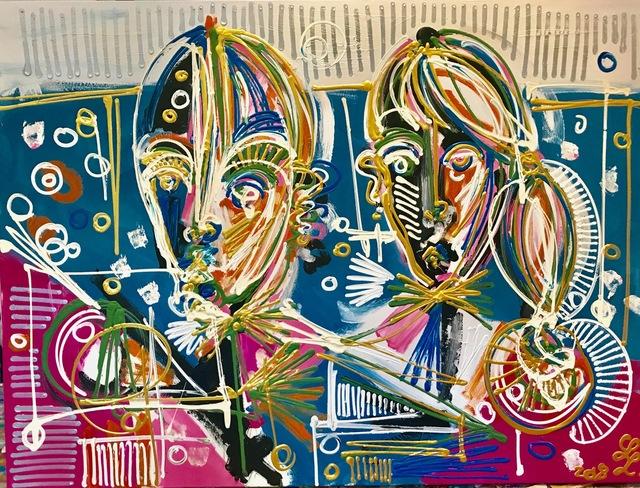 , 'Singles and Couples,' 2018, Edelman Arts