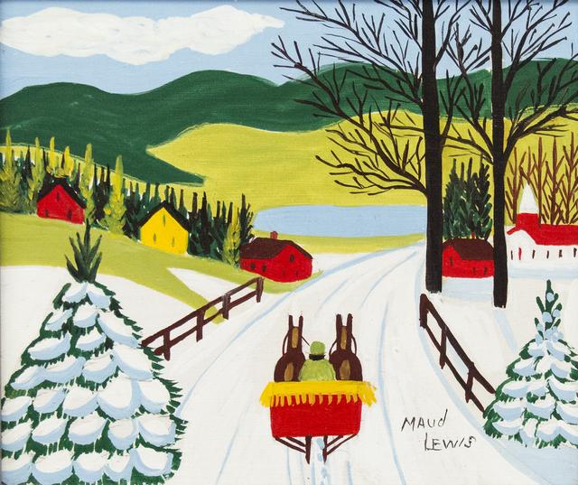 , 'Sleigh Ride To Lake,' , Oeno Gallery