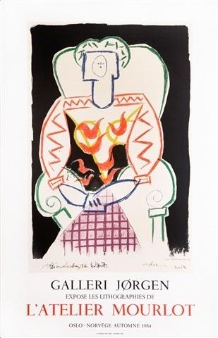 Pablo Picasso, 'Galerie Jorgen', 1984, Hidden