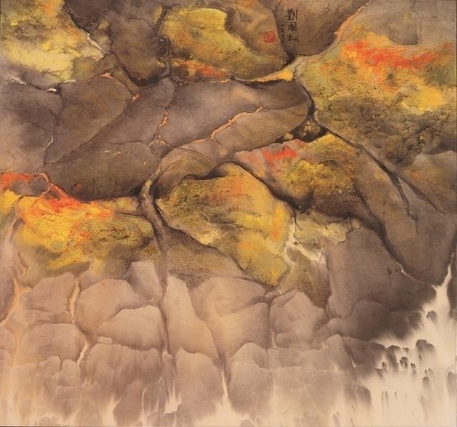 , 'Seaside Mossy Stones海邊苔石,' 1991, Galerie du Monde
