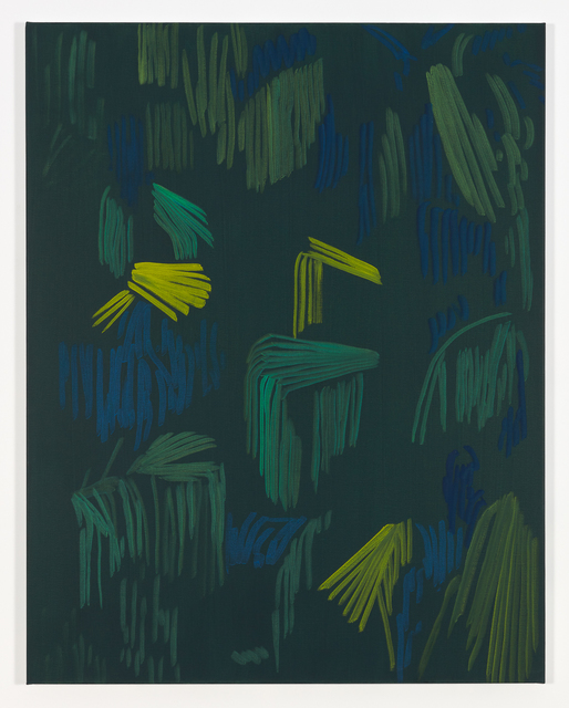 Evi Vingerling, 'Untitled', 2019, Painting, Acrylic and gouache on linen, Kristof De Clercq