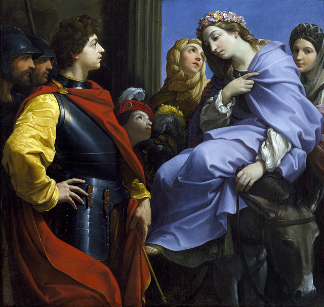 , 'The  Meeting  of  David  and  Abigail,' 1615-1620, New Orleans Museum of Art