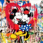Mr. Brainwash, 'Mickey and Minnie', 2018, Taglialatella Galleries